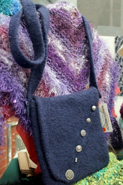 Margot's felt bag