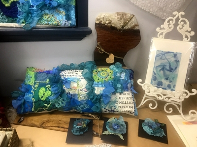 Cushion Cover, Cards, Brooches, Magnets